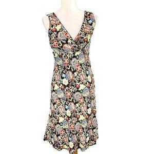 Ann Taylor LOFT Sundress Multicolor Floral Size 4